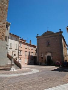 Il centro storico di Spinetoli